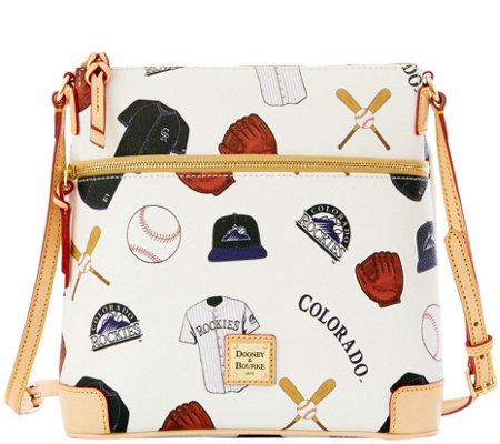 Dooney & Bourke MLB Rockies Crossbody