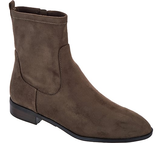 Marc Fisher Faux Suede Ankle Boots - Oshana