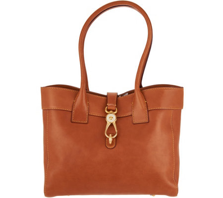 Dooney & Bourke Florentine Leather Amelia Shoulder Bag