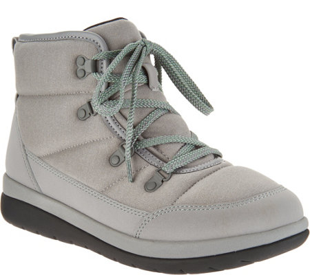 """As Is"" CLOUDSTEPPERS by Clarks Lace- up Boots- Cabrini Cove"