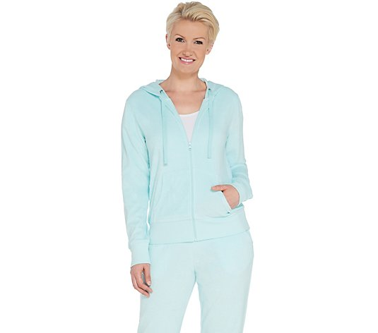 Tracy Anderson for G.I.L.I. Baby Terry Zip Front Hoodie