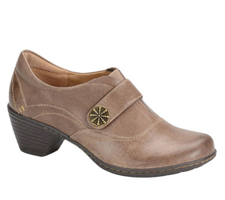 Softspots Sparrow Leather Slip-on Clogs