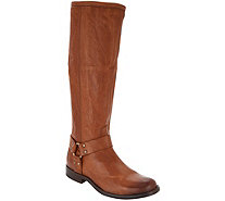 Frye Medium Calf Leather Tall Shaft Boots - Phillip Harness - A343247
