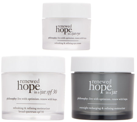 philosophy renewed hope am/pm and eye 3-piece kit Auto-Delivery