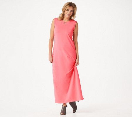 Denim Co Essentials Petite Perfect Jersey Maxi Dress
