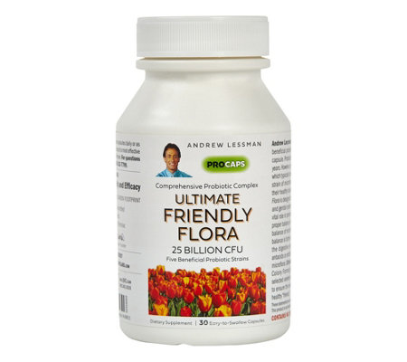 Andrew Lessman Ultimate Friendly Flora 30 Capsules