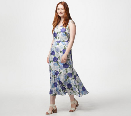 Sam Edelman Floral Print Maxi Dress