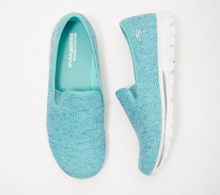 """As Is"" Skechers GOwalk Slip-On Mesh Shoes- Dazzle 2"