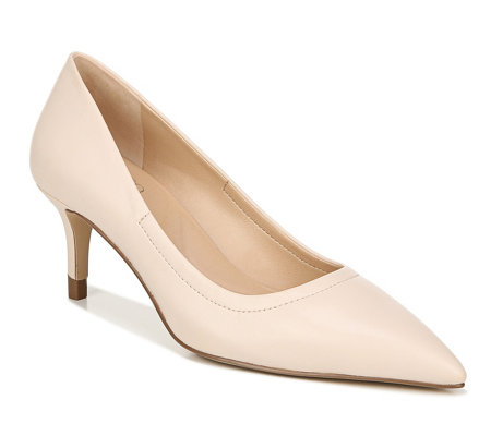 Franco Sarto Pointed-Toe Leather Pumps -Trolley