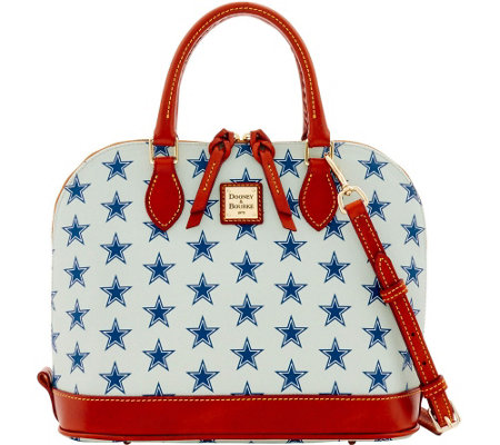 Dooney & Bourke NFL Cowboys Zip Zip Satchel