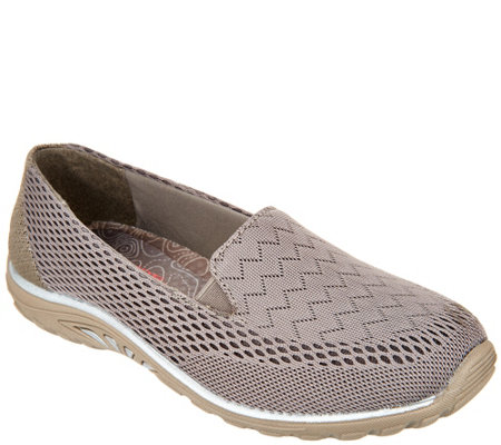 Skechers Relaxed Fit Mesh Slip-ons - Earth Fest Willows
