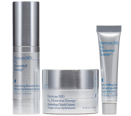 Perricone MD H2 Elemental Energy 3-piece Holiday Gift Set