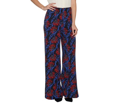 G.I.L.I. Petite High Waisted Wide Leg Pants