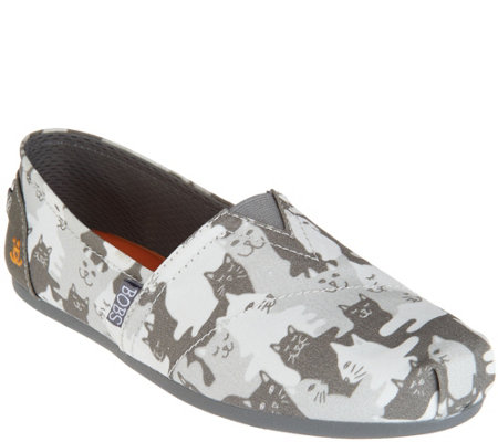 Skechers BOBS Slip-On Shoes - Cat-mouflage