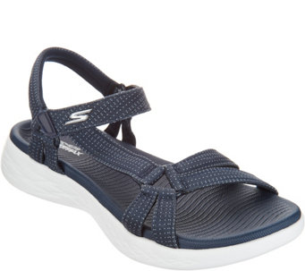 Skechers GO Walk Move Quarter Strap Sandals - Brilliancy - A304448 1907277c83