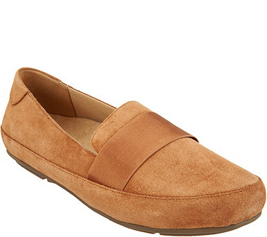 Vionic Suede Loafers - Bridget - A309048