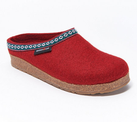 Haflinger Grizzly GZ Classic Wool Felt Clogs
