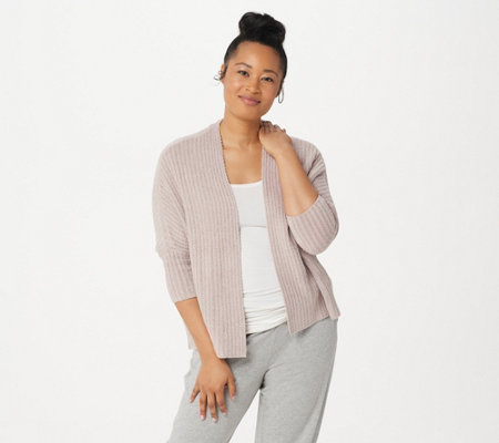 Barefoot Dreams CozyChic Lite Ribbed Shrug Cardi