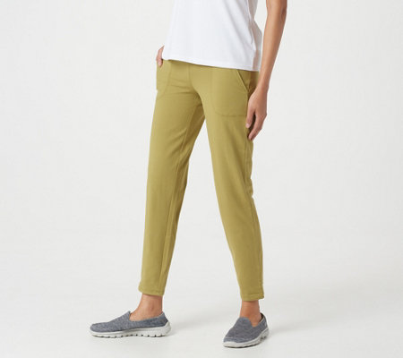 Women with Control Tushy Lifter Ankle Pants with Pockets