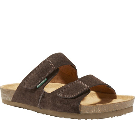 Eastland Men's Leather Slide Sandals - Caleb