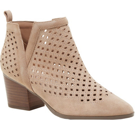 Sole Society Cage Slit Booties - Barcelona