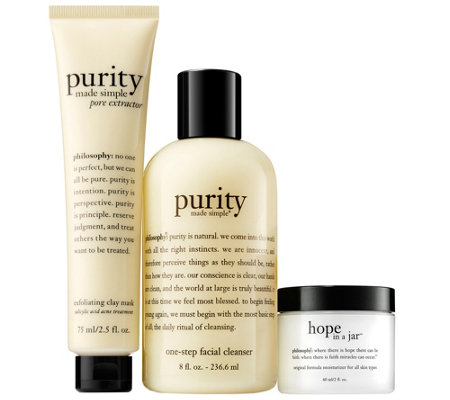 philosophy clean & moisturize trio - hope