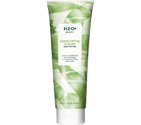 H2O+ Beauty Eucalyptus & Aloe Body Butter, 8 oz