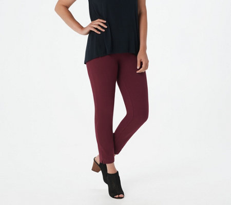 Women with Control Tall Manhattan Ankle Pants with Side Slits