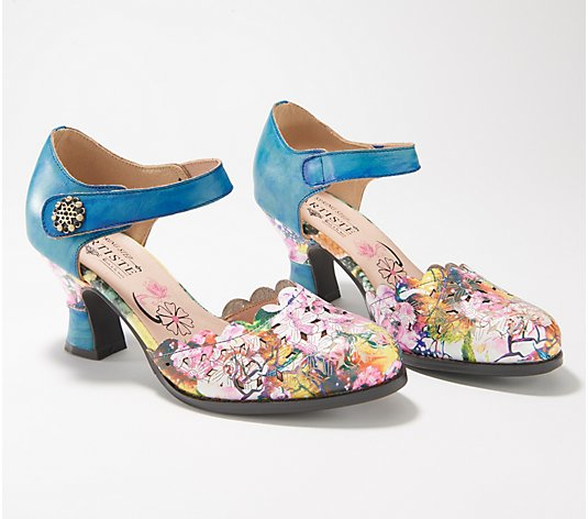 L'Artiste by Spring Step Leather D'Orsey Pumps - Floramaria