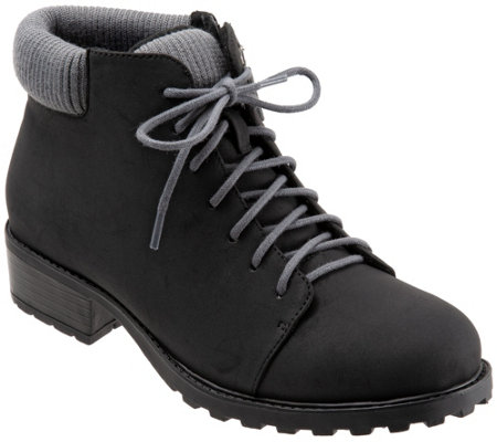 Trotters Lace-Up Boots - Becky Low