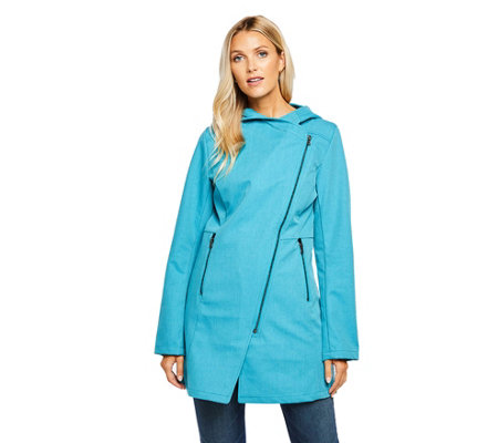 Mia Melon Mesh Lined Waterproof Jacket - Houston