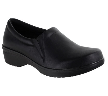 Easy Works by Easy Street Slip-Resistant Clogs- Tiffany