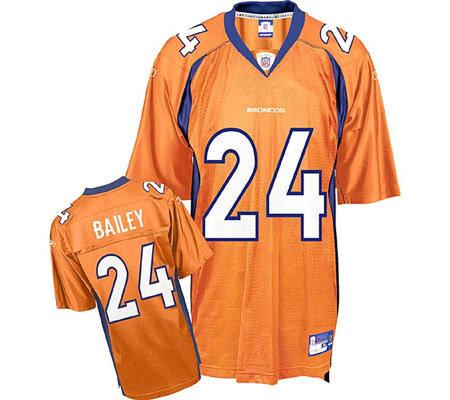 NFL Denver Broncos Champ Bailey Replica Alternae Jersey — QVC.com 576187760