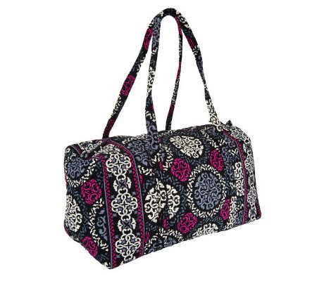 Vera Bradley Signature Print Double Handle Large Duffel - Page 1 ... a61f55583a110