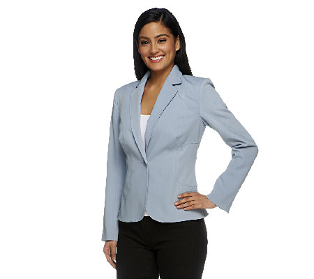 G.I.L.I. Fully-Lined Blazer with Seaming Details