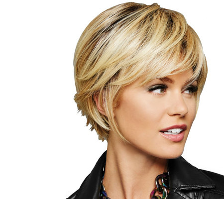 Hairdo Chin Length Textured Fringe Bob Wig