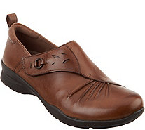 Earth Leather Slip-on Shoes - Amity - A296849