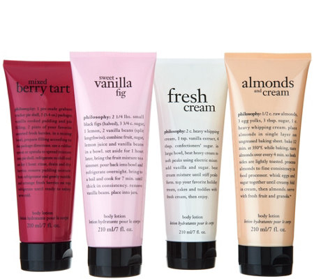 philosophy sweet escape 4-piece body lotion set Auto-Delivery