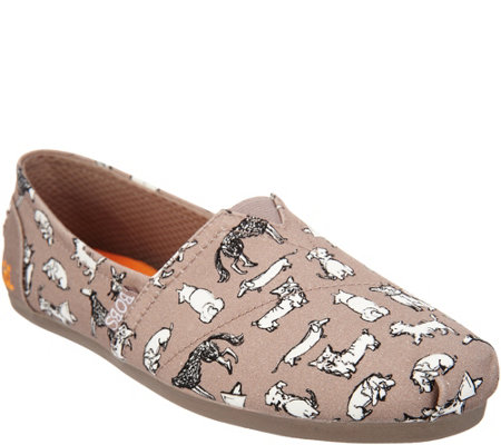 Skechers BOBS Slip-On Shoes - Dream Doodle