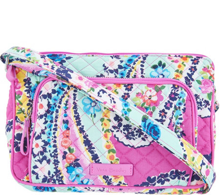 Vera Bradley Iconic Signature RFID Little Hipster Bag