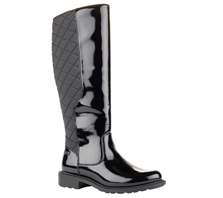Cougar Waterproof Quilted Riding Boots - JoJo