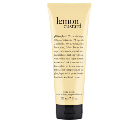 philosophy lemon custard body lotion, 7 oz