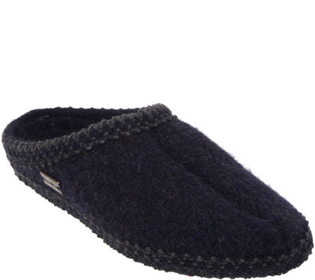 d4313534e32 Haflinger Boiled Wool Slippers - AS Classic - Page 1 — QVC.com