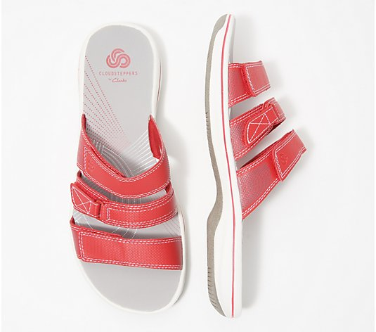 CLOUDSTEPPERS by Clarks Sport Slide Sandals - Brinkley Coast