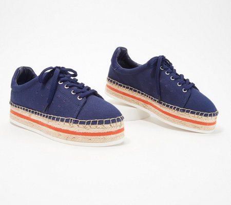 Vince Camuto Canvas Espadrille Sneakers - Jannell