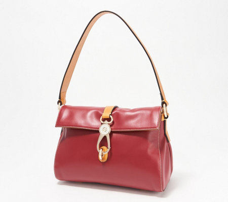 Dooney & Bourke Smooth Leather Libby Hobo