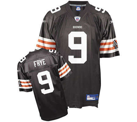 NFL Cleveland Browns Charlie Frye Youth Replicaeam Jersey — QVC.com fff5f8f65