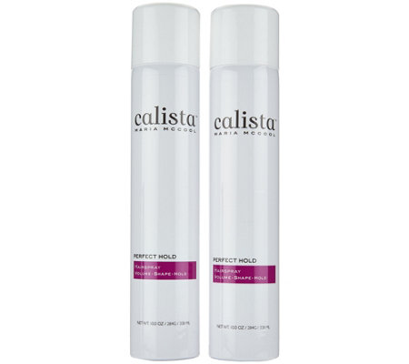 Calista Perfect Hold Hairspray Duo