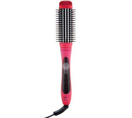 CHI Smart GEMZ Volumizing Heated Hair Brush — QVC com