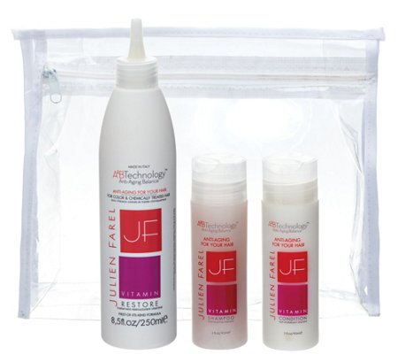 Julien Farel Vitamin Restore with Travel Shampoo & Conditioner